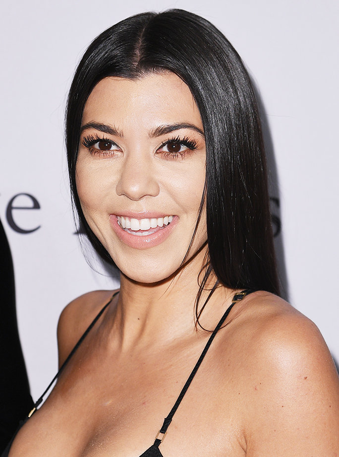 Kourtney Kardashian's 4-Step Beauty Routine