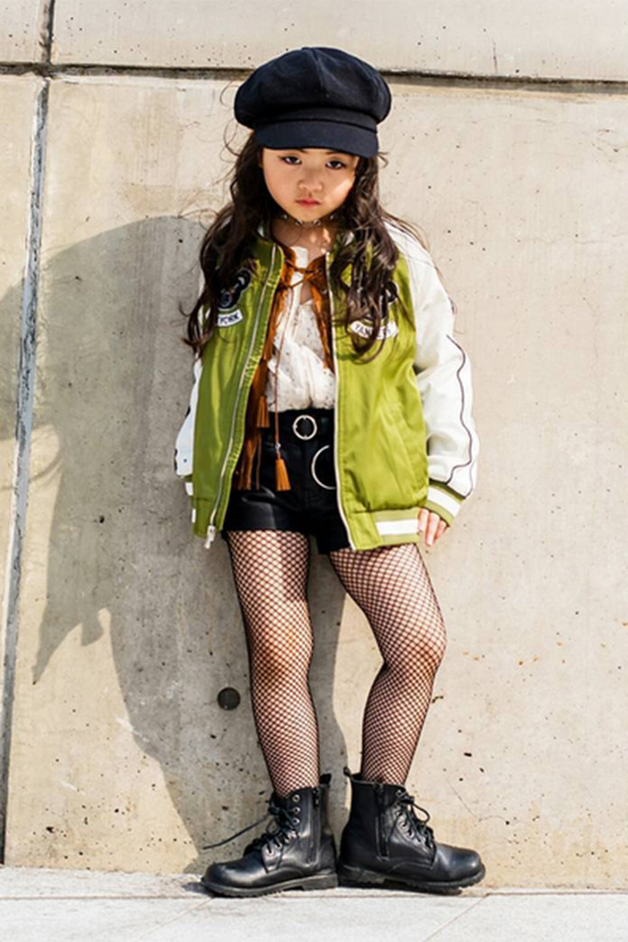 Seoul Fashion Week Street Style Children