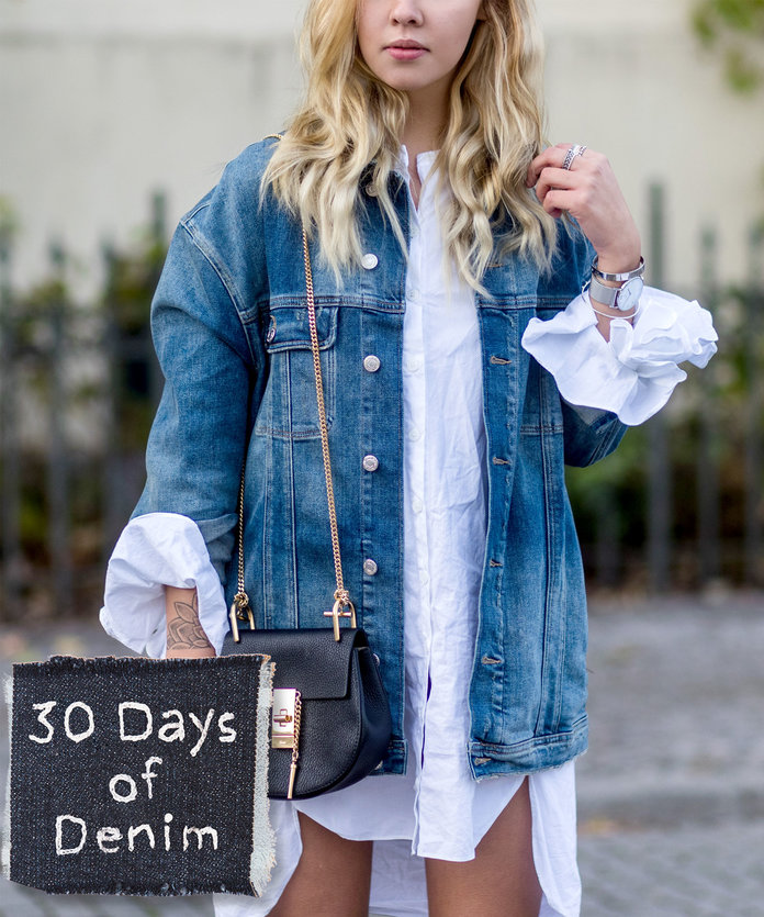 9 Oversized Denim Jackets Guaranteed to Get You Noticed