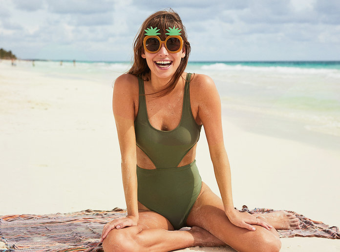 The 6 Best Swimsuits That Will Help Disguise Your Tummy This Summer