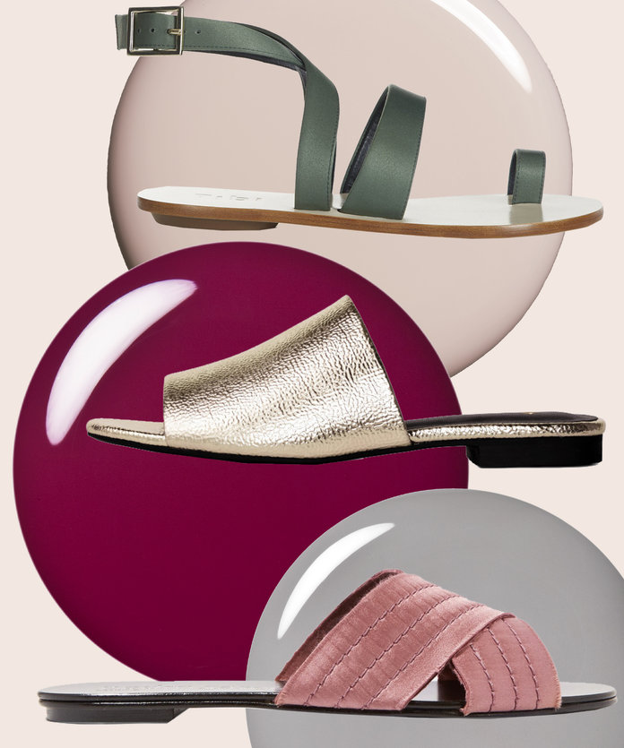 7 Sandal and Nail Polish Pairings You Need To Try This Spring