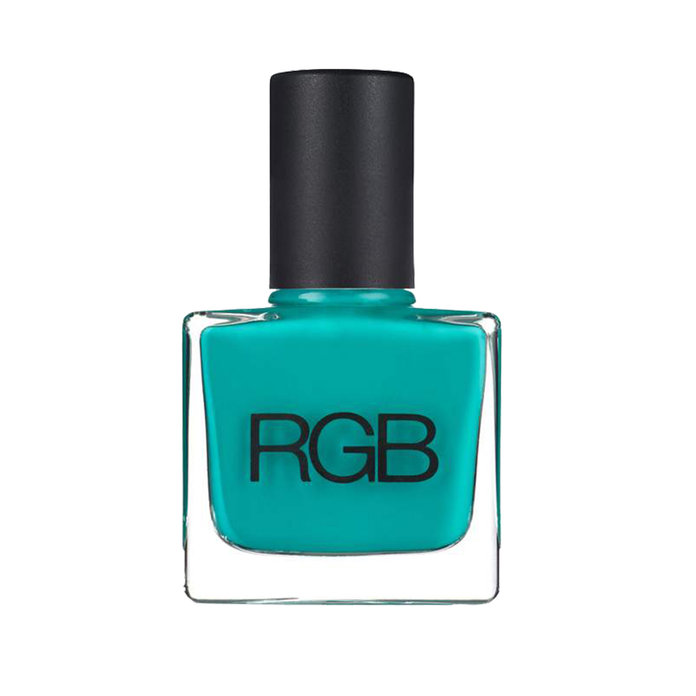 <p>RGB Nail Polish in Peacock </p>