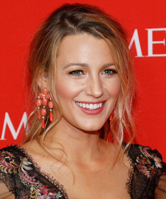 Blake Lively Beach Waves