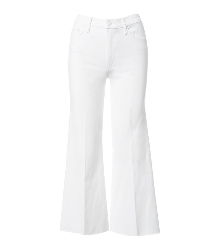 <p>mother roller crop fray jeans</p>
