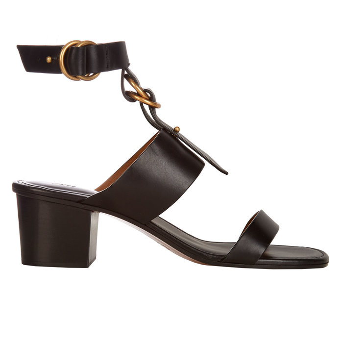 <p>Kingsley leather sandals</p>