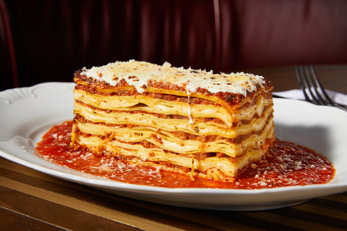 chef michael symon s mom approved lasagna recipe instyle com