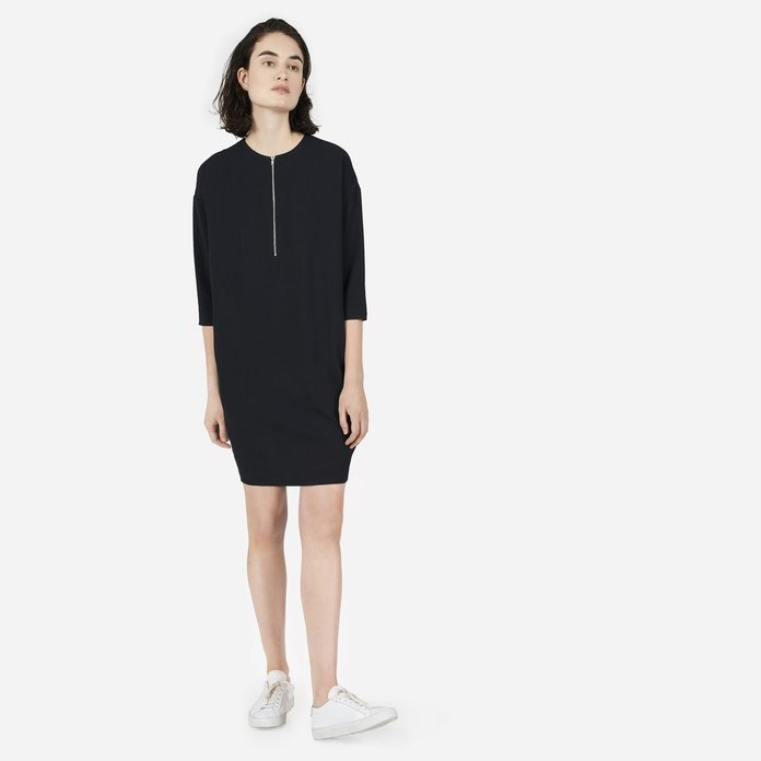 The Japanese GoWeave Zip-Front Dress
