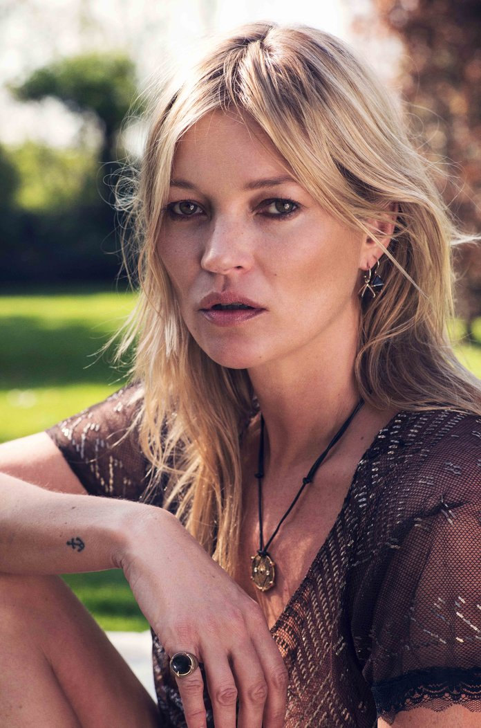 Kate Moss Has Just Launched A Jewellery Collaboration And It'sGuaranteed Instabait