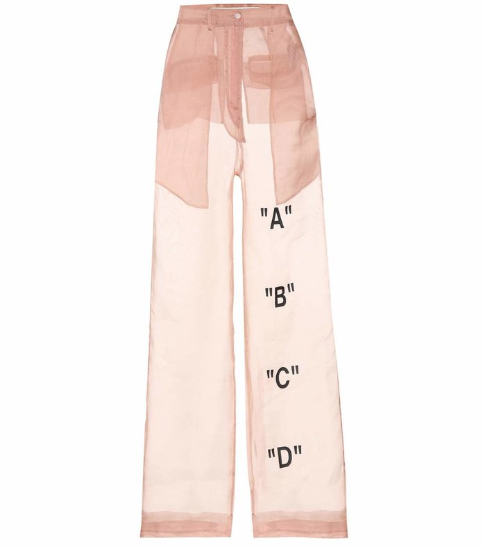 ORGANZA TROUSERS