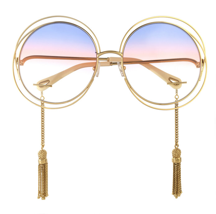 <p>GOLD-TONE SUNGLASSES</p>
