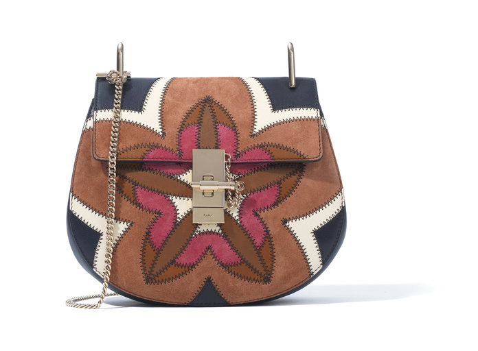 <p>PATCHWORK DREW MINI SHOULDER BAG</p>
