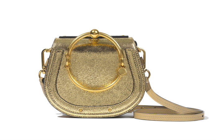 <p>GOLD NILE BAG</p>