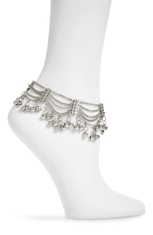 Bell Multi-Row Anklet