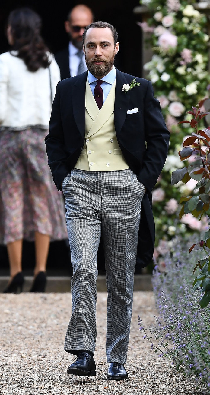 James Middleton, brother of the bride