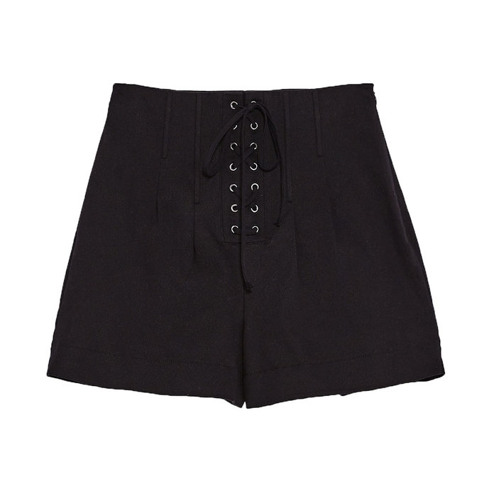 <p>ZARA HIGH WAIST BERMUDA SHORTS</p>