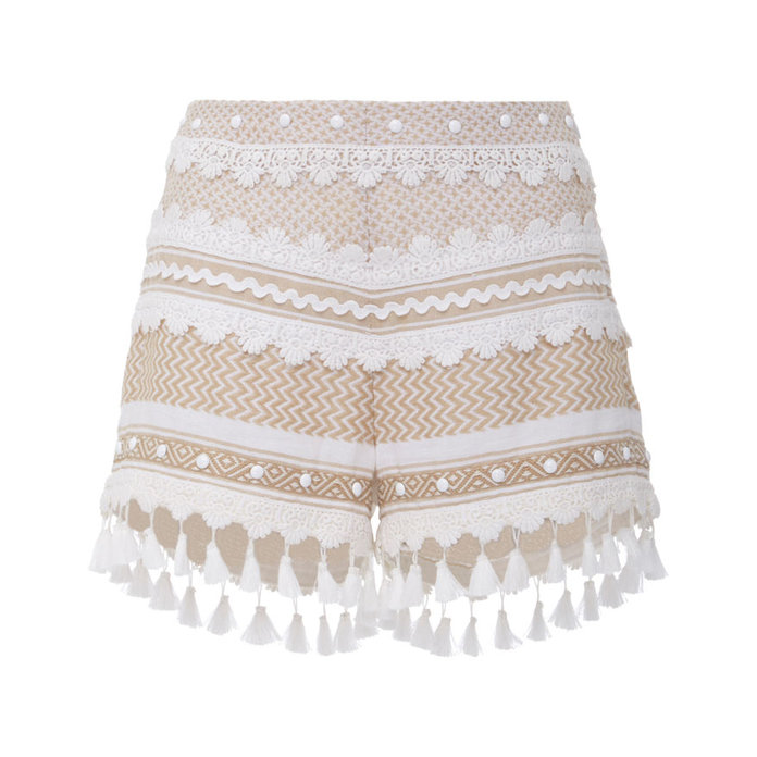 <p>DoDo Bar Or Moav Tassel Shorts</p>