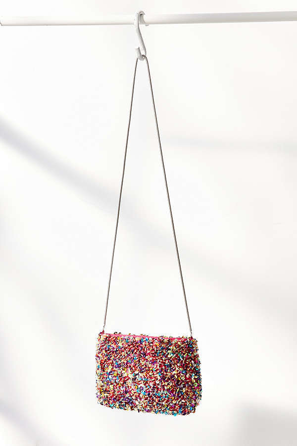 sequin crossbody