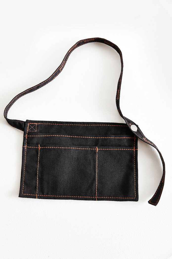 DENIM BELT BAG