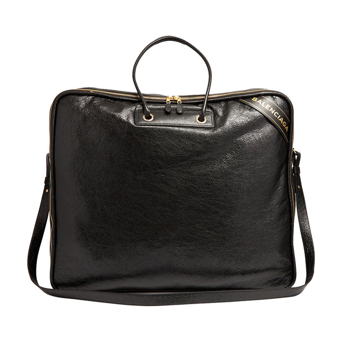 <p>Blanket Square extra-large leather tote</p>