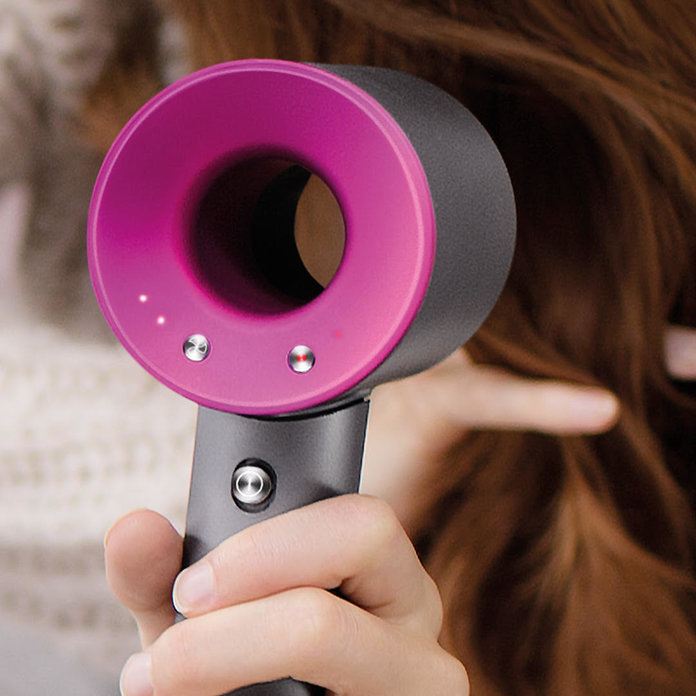 Take One Dyson Supersonic Hairdryer: TryTwo Super Easy Hair Looks