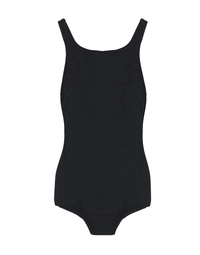 ONE-PIECE WITH PLUNGING BACK