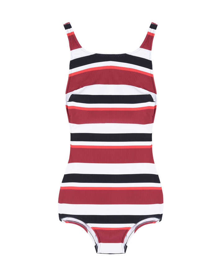 STRIPED ONE-PIECE