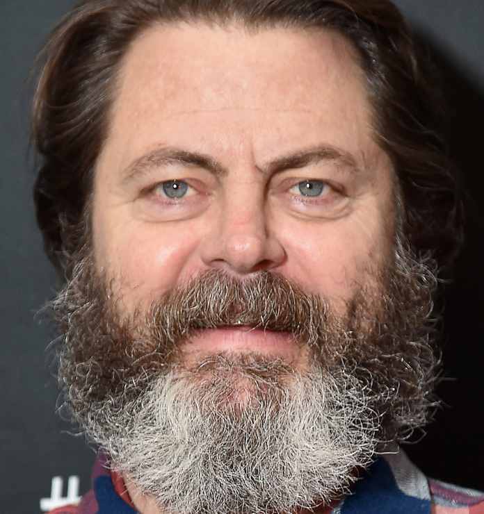 weird facial hair styles who look without hair instyle 2046 | 061417 celeb beards offerman beard