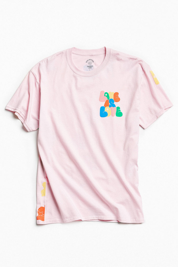 UO Community Cares + GLSEN Pride Love Tee