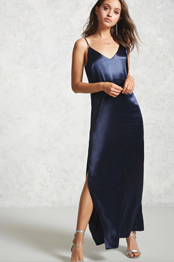 Satin Cami Maxi Dress