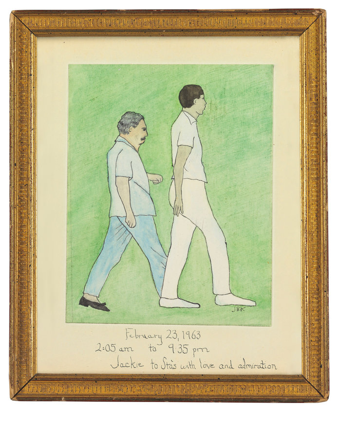 Jackie Kennedy Auction - Painting - Embed