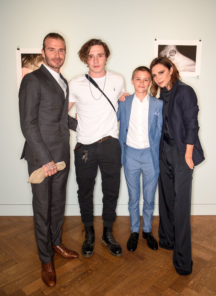How Aww-Worthy Is The Beckham Family? Serious #LifeGoals