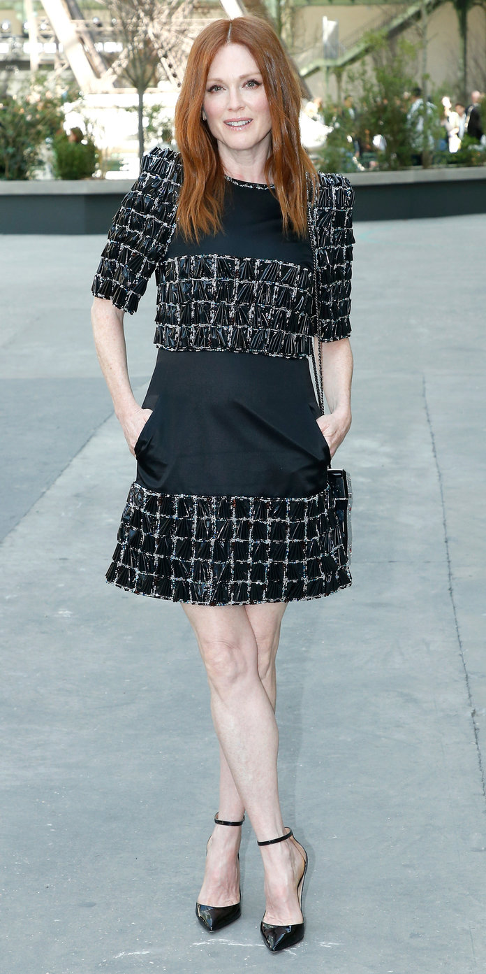 Julianne Moore at Chanel