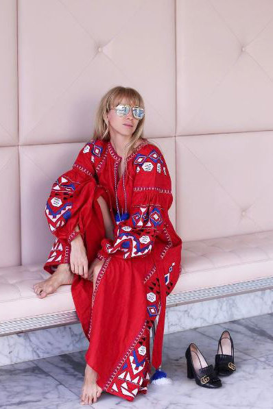Why Kaftans Are Having A Major Fashion Moment Right Now