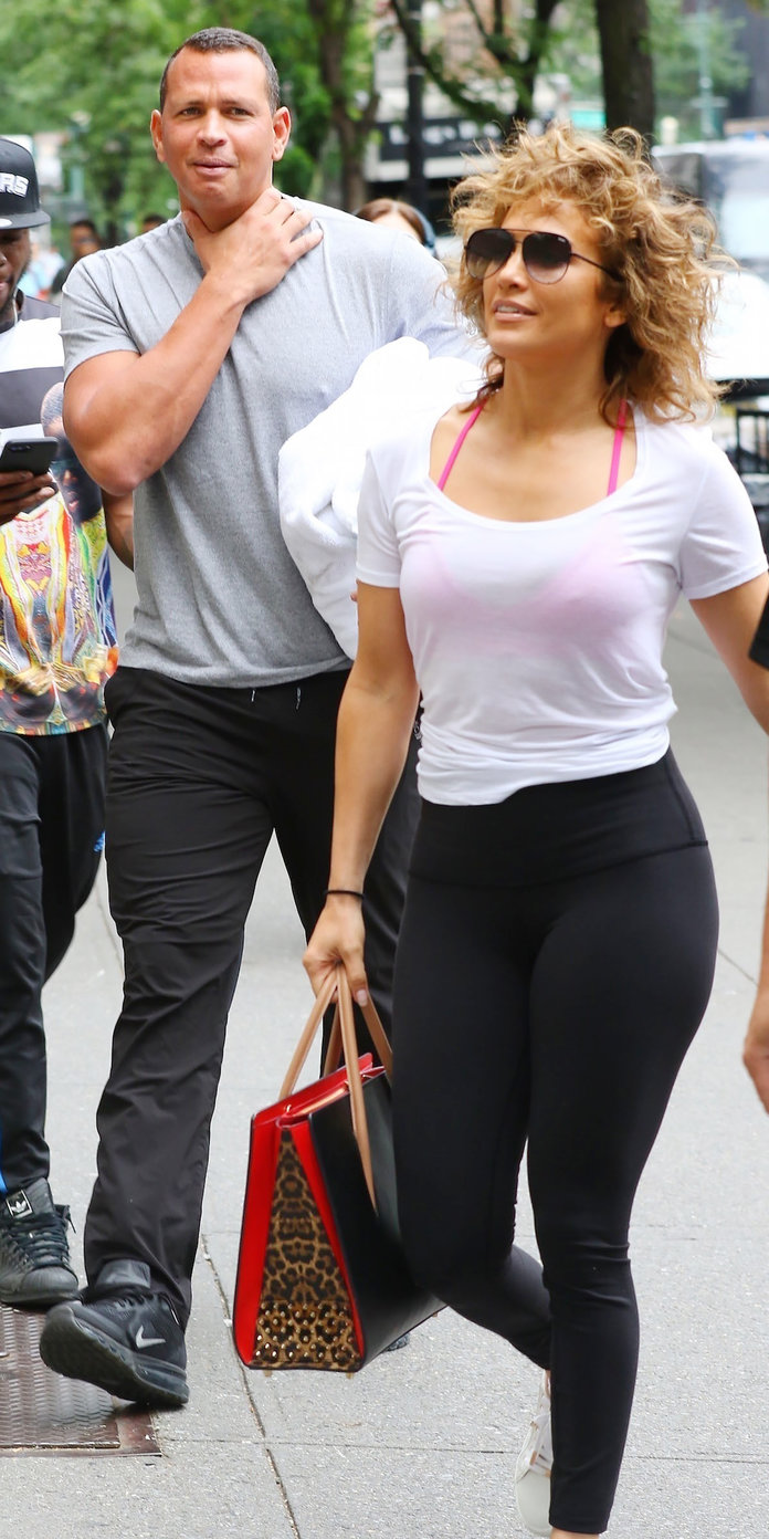 <p>Jennifer Lopez and Alex Rodriguez </p>