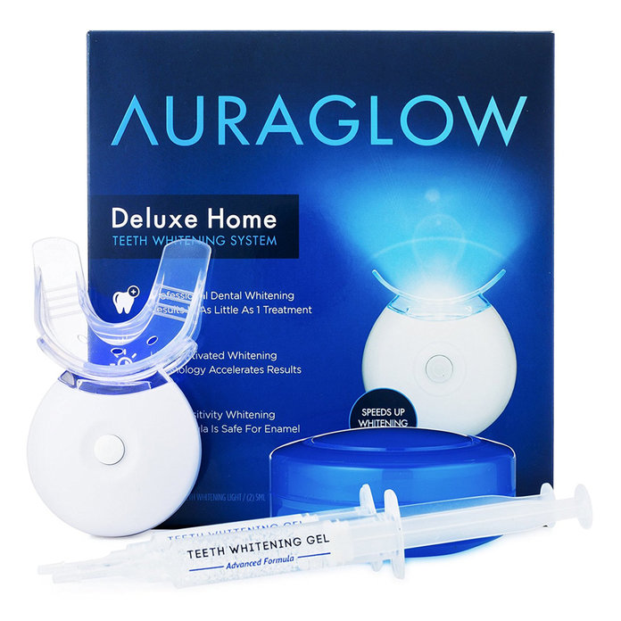<p>AuraGlow Teeth Whitening Kit </p>