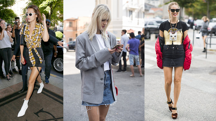 Raw-Edge: The Cool Way To Wear A Denim Skirt This Summer