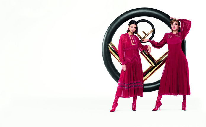 Kendall Jenner and Gigi Hadid Solidify BFF Status in New Fendi Ad