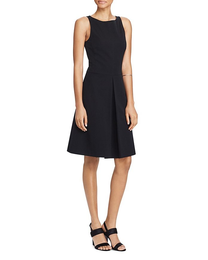 Lauren Ralph Lauren Fit-and-Flare Dress