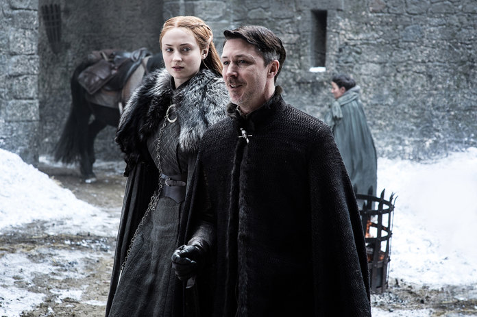<p>Sansa Stark and Littlefinger</p>