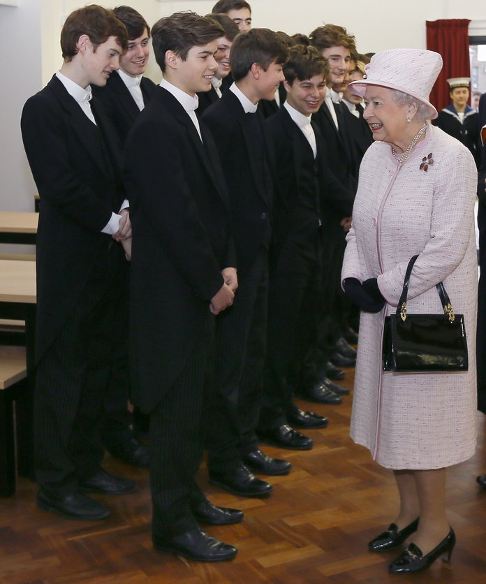 Queen's former page boy shocks with half-naked photo