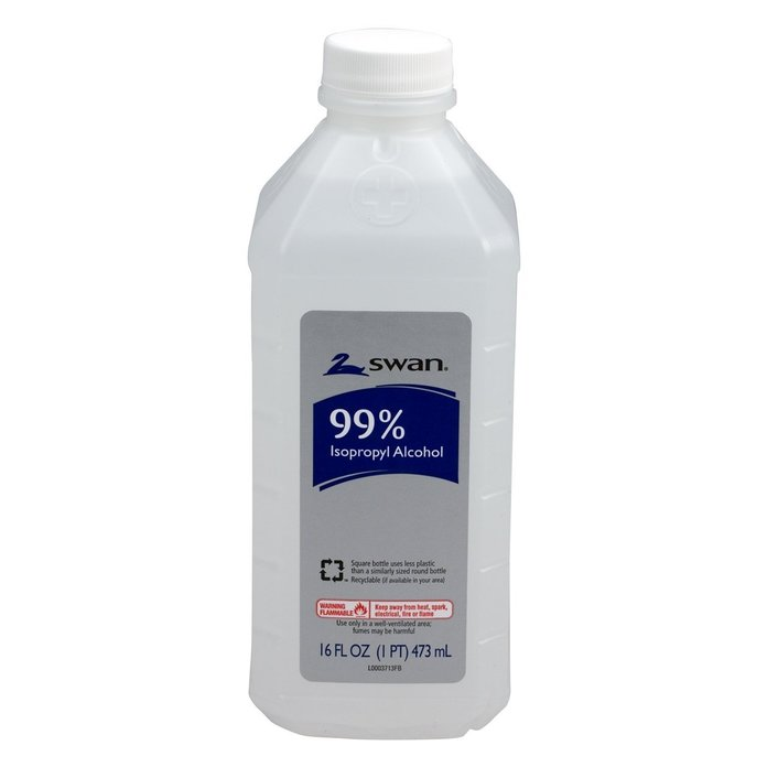 Swan 99 Percent Isopropyl Alcohol Antiseptic Solution