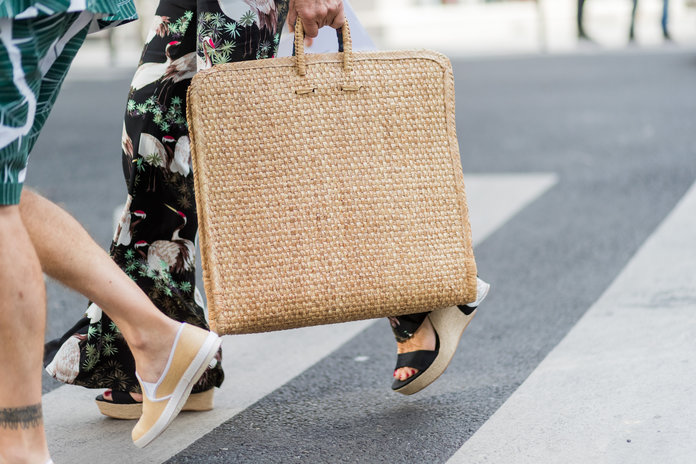 Don't Save Your Basket Bag For The Beach. Here's 14 Ways To Wear Them Every Day