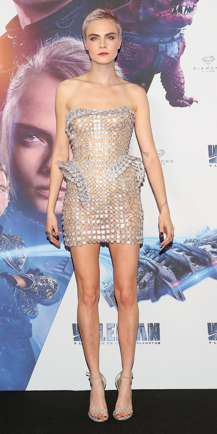 Valerian's Mexico City Premiere - Aug. 2