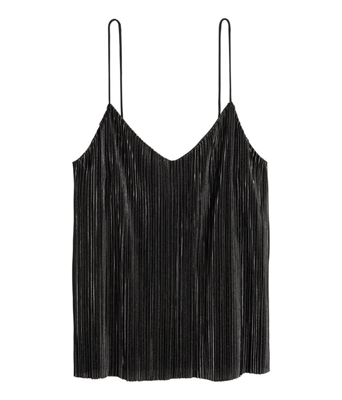 H&M Pleated Camisole Top