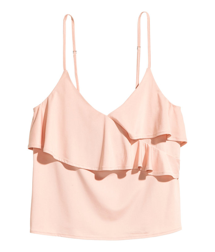 H&M Ruffled Camisole Top