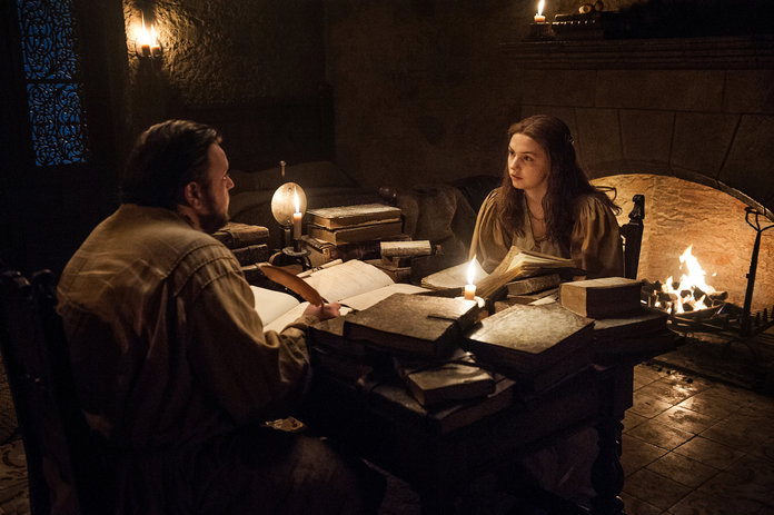 <p>Samwell Tarly and Gilly</p>