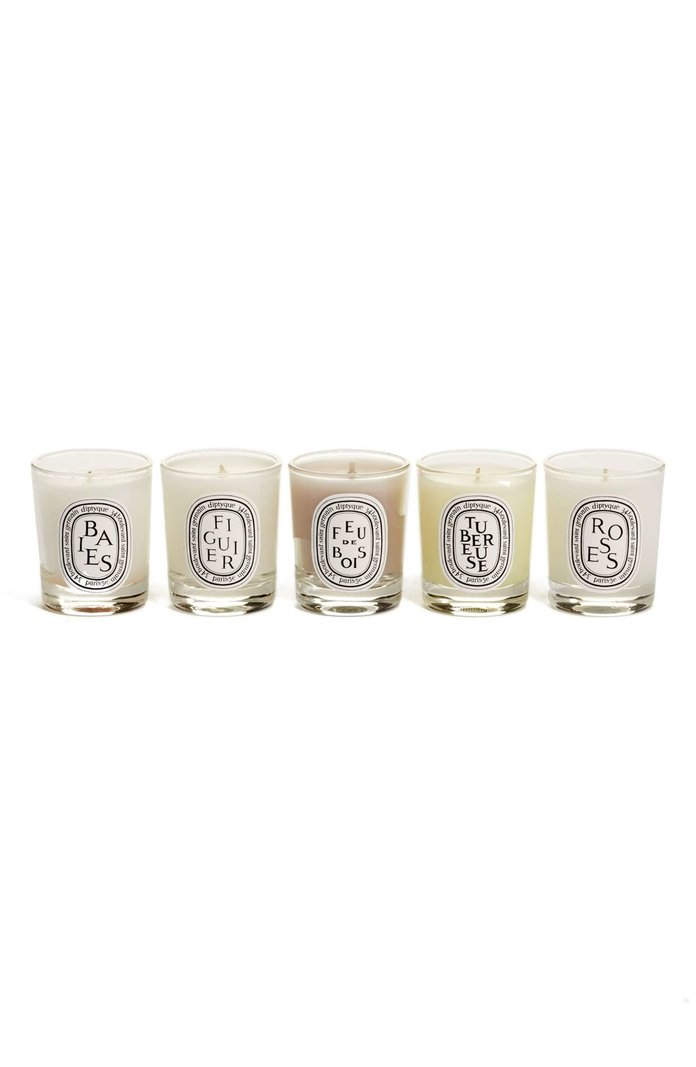 <p>DIPTYQUE SCENTED CANDLE SET</p>