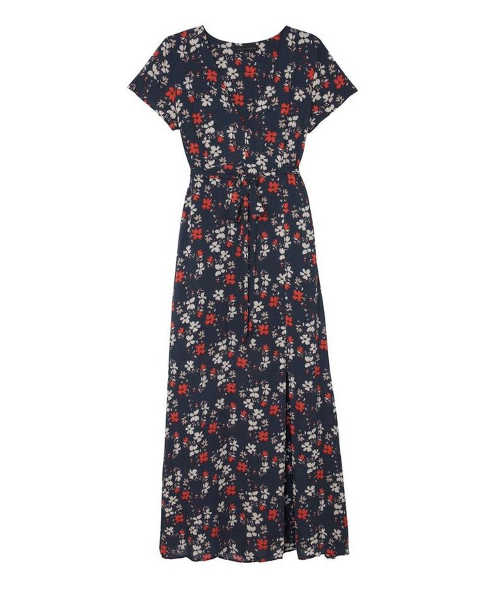 <p>SANCTUARY FLORAL MAXI DRESS</p>
