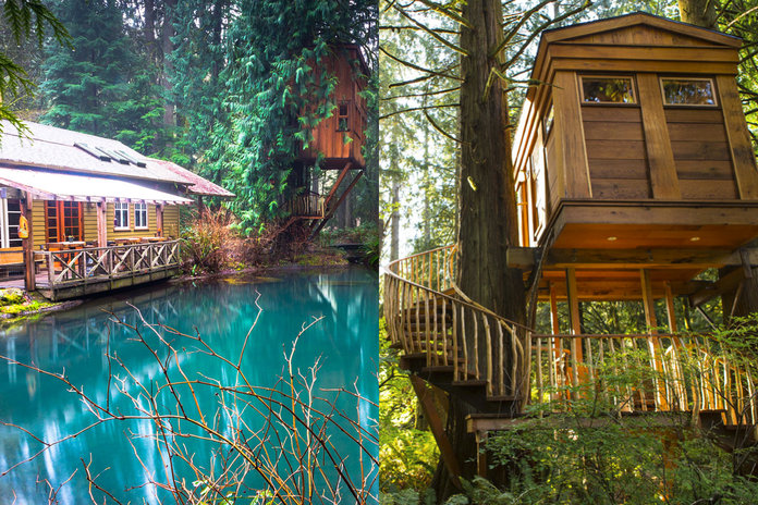 Treehouse Hotels So Magical You Ll Legit Never Want To Come Home
