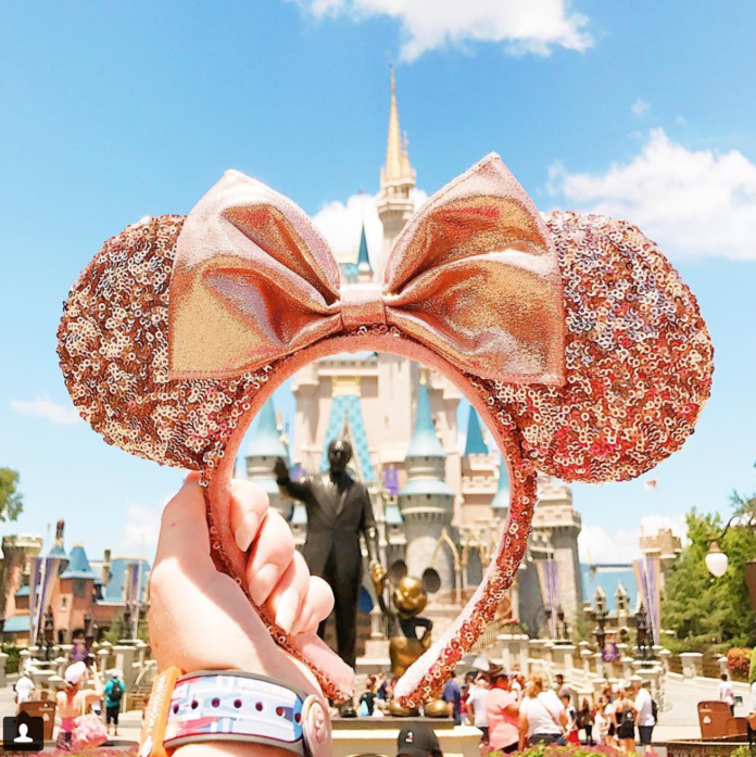 The Internet Is Losing It Over Disney's New Rose Gold Minnie Ears